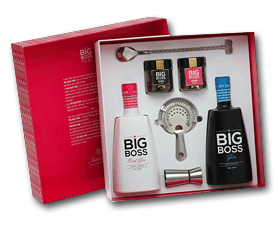 Gin Big Boss Duo Dry Pink E