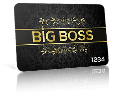 big boss vip card