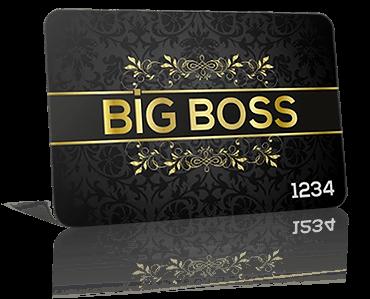 big boss vip card